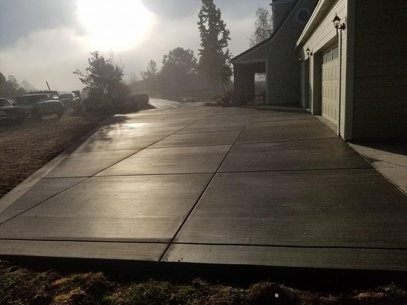 concrete driveway repaired my concrete company in Livermore