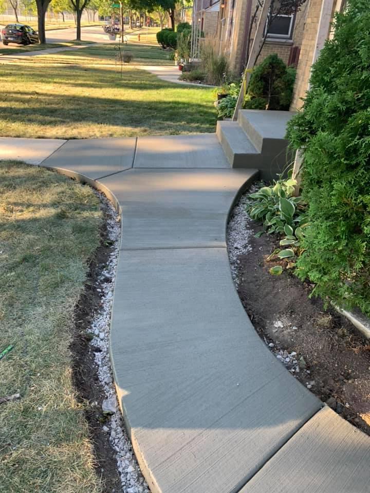 concrete walkway contractors