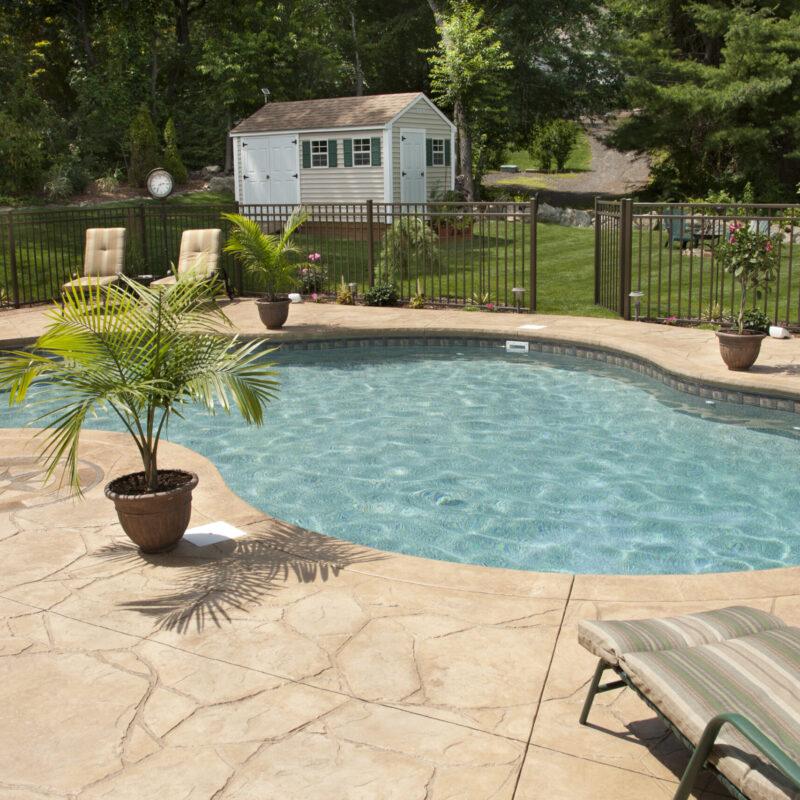 concrete pool deck construction livermore ca